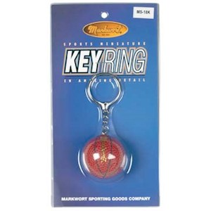 MS18K Markwort Keyring Mini Basketball THUMBNAIL