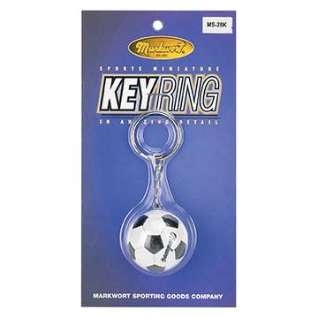 MS28K Markwort Key Ring - Soccer Ball THUMBNAIL