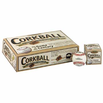 Markwort Leather Corkball Teampack - Yellow THUMBNAIL