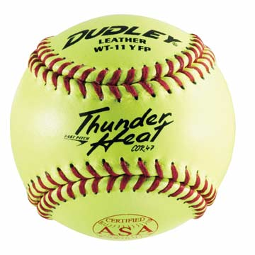 "4A531 Dudley Thunder Heat WT11 Leather Cover 11"" Softball MAIN"