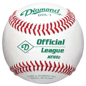 Diamond Baseballs Youth & HS Practice MAIN