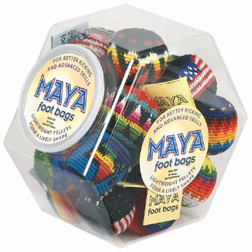 MAYADSP Maya Counter Display - 20 Assorted Footbags MAIN