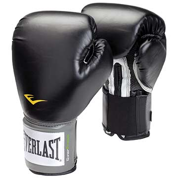 1200026 Everlast ProStyle Training Gloves - 8oz - Black MAIN