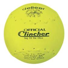 "F16Y DeBeer Clincher 16"" Yellow Softball MAIN"