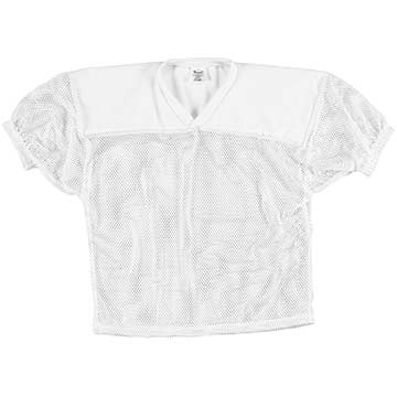 A70W Markwort Mesh Football Jersey - Adult - White MAIN