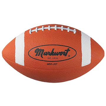 "MRF85T MW Rubber Football - 8.5"" - Tan MAIN"