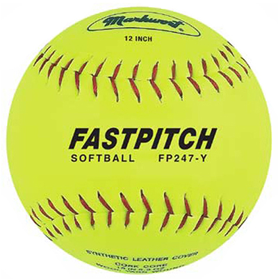 "Markwort 12"" FP Softball Yellow - Boxed THUMBNAIL"