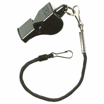 "9907008 Fox 40 Classic Whistle with 9"" Clipper Lanyard MAIN"