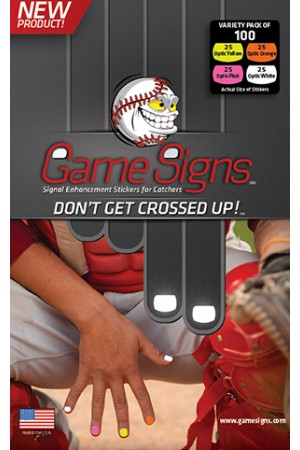 GSIGNVP Game Signs Signal Stickers Pack of 100 Variety Pack THUMBNAIL