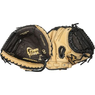 "GXC105F Mizuno Prospect Baseball Catchers Mitt 32.5"" Full Right THUMBNAIL"