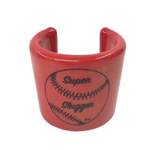 HJ9RD Super Slugger Hitting Bat Weight 9oz Red MAIN