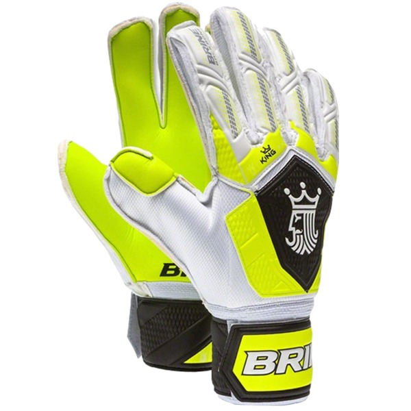 KGM36TOX Brine King Match 3x Goalie Gloves - Toxic/Black MAIN