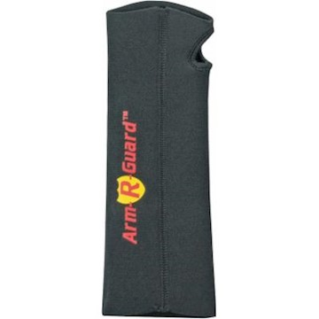 L200B Arm-R-Guard Youth Arm Pad Left Arm - Black LARGE