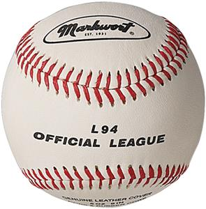 L94 Markwort Official League 5oz Baseball MAIN