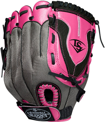 "LDVLB19115 Louisville Slugger Diva 11.5"" Girls Fastpitch Softball Glove - Right Hand THUMBNAIL"