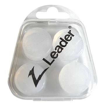 Leader Silicone Ear Plugs - 4 Pk THUMBNAIL