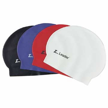 SB0191P Leader Latex Swim Cap - Purple MAIN