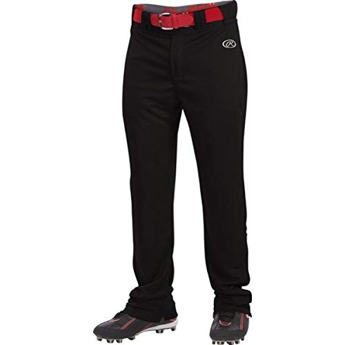 LNCHSRB Rawlings Adult Launch Baseball Pants - Black MAIN