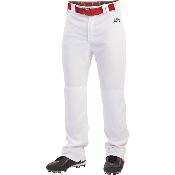 LNCHSRW Rawlings Adult Launch Baseball Pants - White MAIN