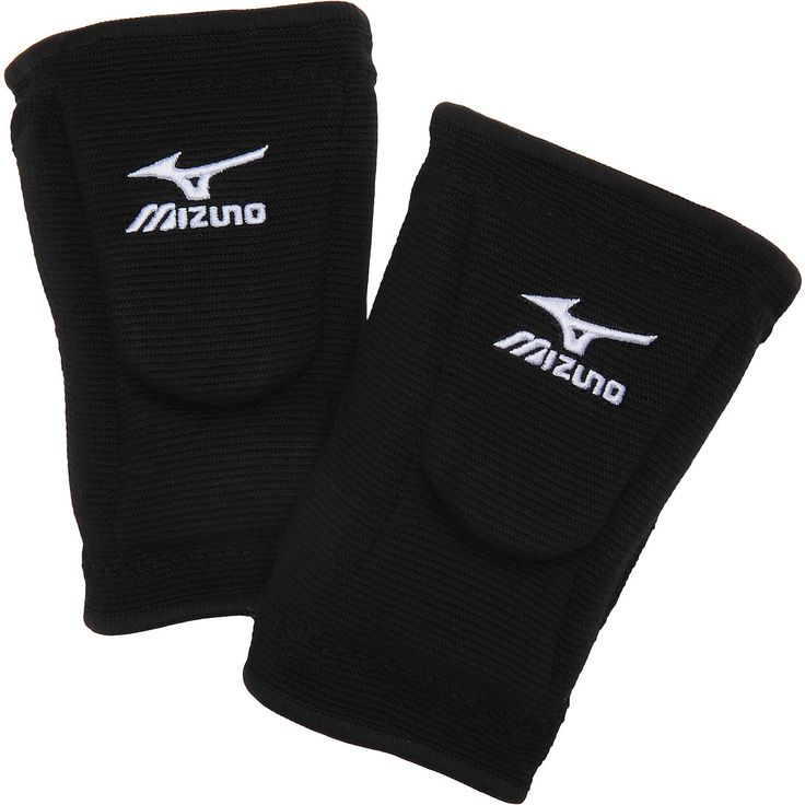 LR6B Mizuno LR6 Volleyball Kneepads - Black MAIN