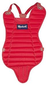 LRT14S Markwort Chest Protector w/Tail -Scarlet MAIN