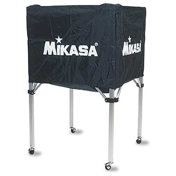 "BCSPSHB Mikasa Ball Cart 25""x25""x39"" - Black MAIN"