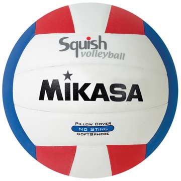 Mikasa Volleyball - VSV Squish - Red/White/Blue THUMBNAIL