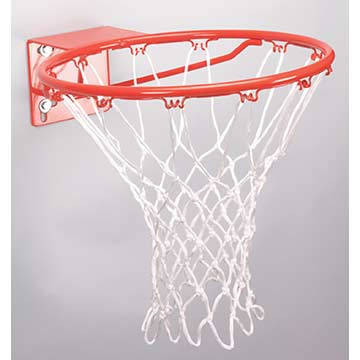 BB12RWB Markwort Basketball Net - Red/White/Blue THUMBNAIL