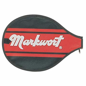 Markwort Cover for Badminton Racket - Black THUMBNAIL