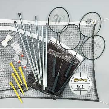 MWV36 Markwort Combo Volleyball/Badminton Set LARGE