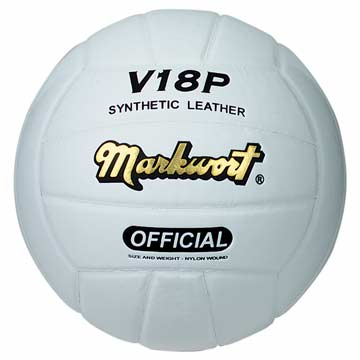 Markwort Volleyball - Synthetic Leather - White MAIN