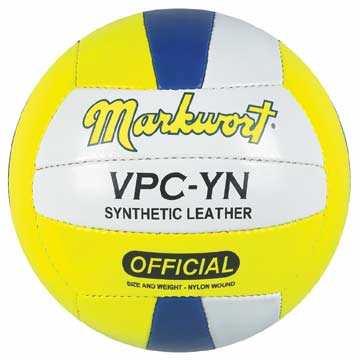 VPCYN Markwort Volleyball - Synthetic Leather - Yellow/Navy/White MAIN