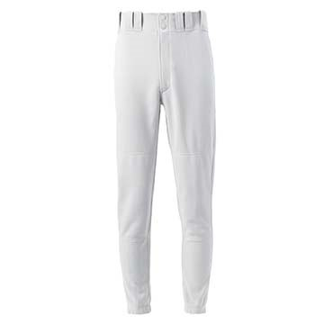 350015W Mizuno Youth Select Pant White LARGE