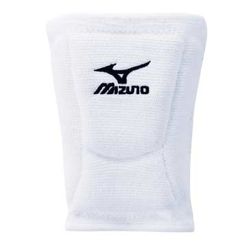 Mizuno LR6 Volleyball Kneepads - White THUMBNAIL