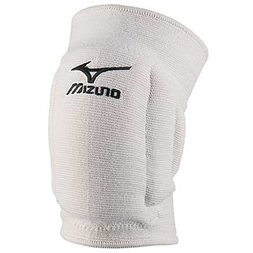 Mizuno MZ-T10 Volleyball Kneepads - White THUMBNAIL