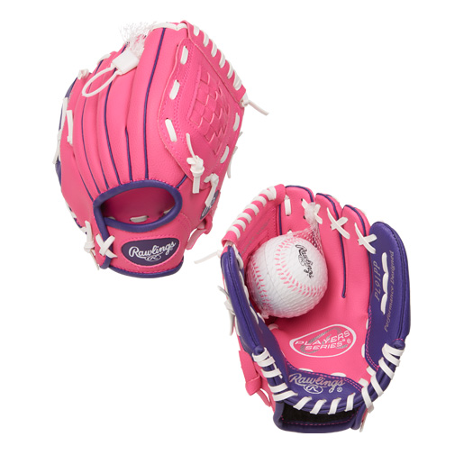 "PL91PP Rawlings Player's T-ball 9"" Glove - Regular THUMBNAIL"