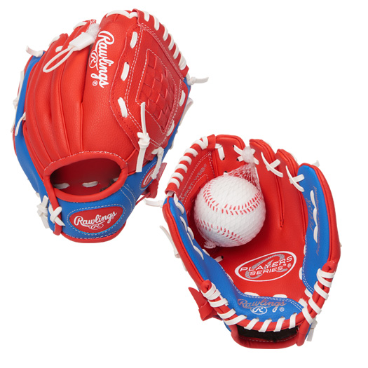 "PL91SR Rawlings Player's T-ball 9"" Glove - Regular THUMBNAIL"