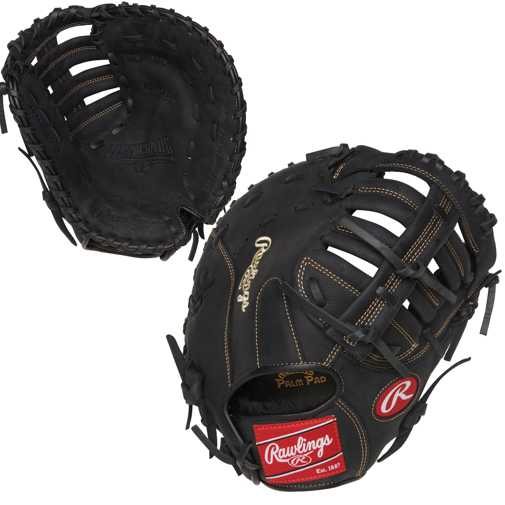 "R115FBM Rawlings Renegade First Base Mitt 11.5"" - Regular THUMBNAIL"