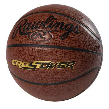 CROSS8B Rawlings Men's Basketball - Cross-Over - Size 7 MAIN
