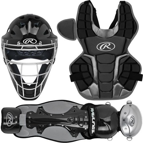 RCSNAB Rawlings NOCSAE Approved Renegade 2.0 Adult Catcher's Set Ages 15+ - Black MAIN
