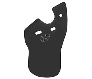 RHBM C-Flap® Cheek & Jaw Protection - Matte Finish - Right Handed Batter THUMBNAIL