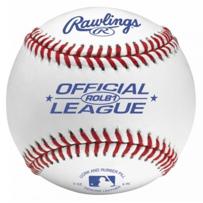 ROLB1US Rawlings Leather Baseball USSSA MAIN