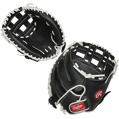 "RSOCM325BW Rawlings Shut Out Fastpitch Catcher Mitt 32.5"" - Regular THUMBNAIL"