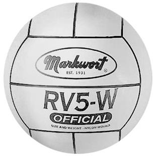 Markwort Rubber Volleyball - White THUMBNAIL