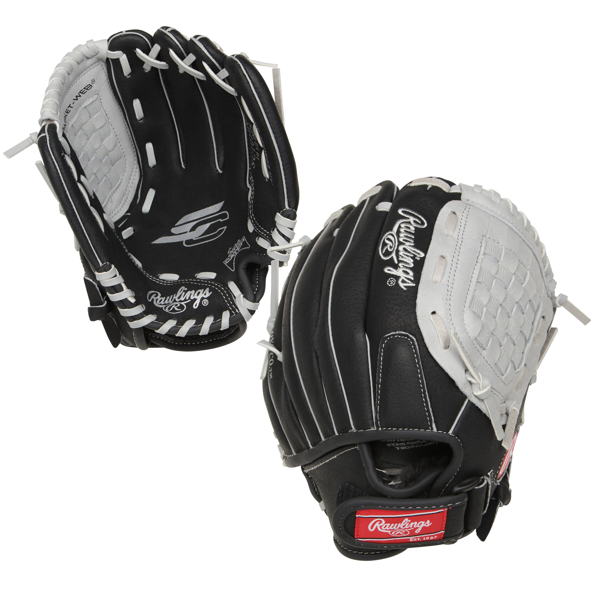 "SC105BGB Rawlings Sure Catch Ball Glove Basket Web 10.5"" - Regular MAIN"
