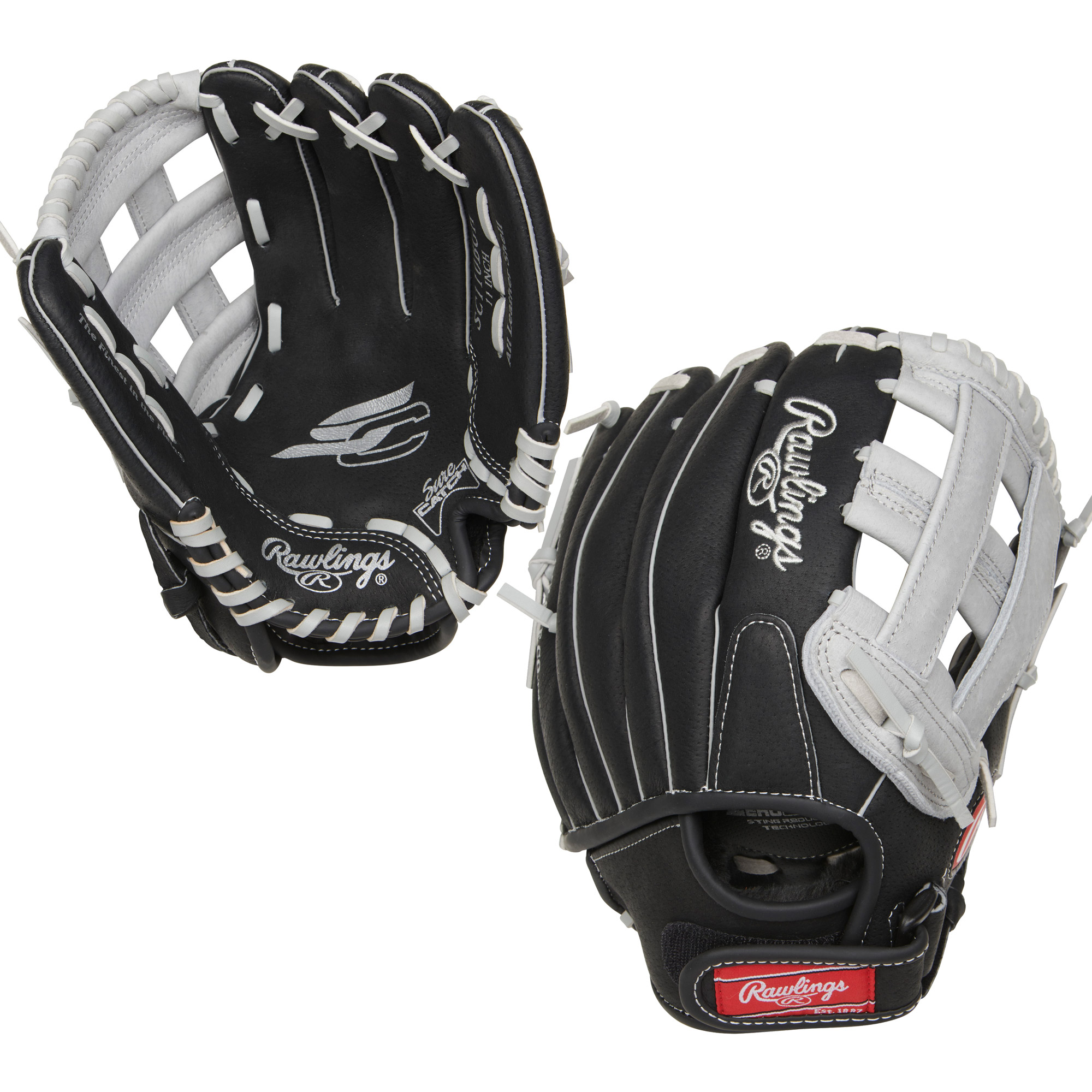 "SC110BGH Rawlings Sure Catch Ball Glove H-Web 11"" - Regular MAIN"