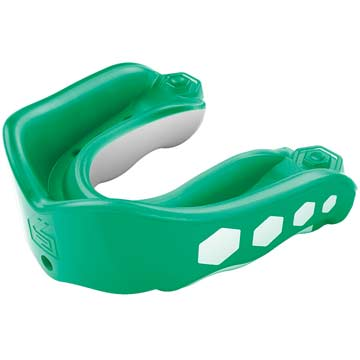 Shock Doctor Gel Max Convertible Adult Flavor Fusion Mouthguard  - Spearmint THUMBNAIL