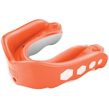 Shock Doctor Gel Max Convertible Youth Flavor Fusion Mouthguard  - Orange THUMBNAIL