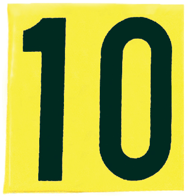 SIDE10 Markwort Football Single Sideline Marker - 10 Yard THUMBNAIL