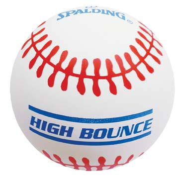 51162 Spalding Spaldeen High Bounce Balls - Baseball MAIN